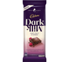 Cadbury Dark Milk Sweet Zingy Raspberry (160g)