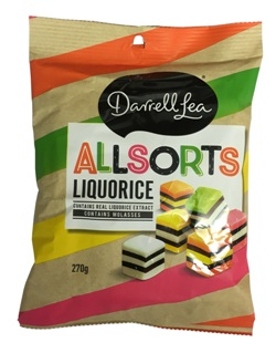 Darrell Lea Liquorice Allsorts (270g)