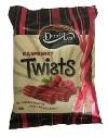 Darrell Lea Raspberry Liquorice Twists (300g)