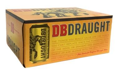 DB Draught (12 x 330ml Cans)