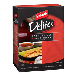 Fantastic Delites Sweet Chilli & Sour Cream (100g)