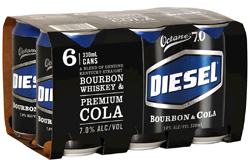 Diesel Bourbon & Cola (6 x 330ml cans)