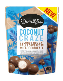 Darrell Lea Chocolate Bites - Coconut Craze (160g)
