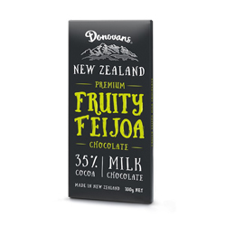Donovans Feijoa Milk Chocolate (100g)