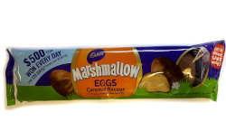Cadbury Milk Chocolate Caramel Marshmallow Easter Eggs (150g)
