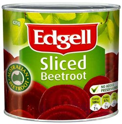 Edgell Sliced Beetroot (425g)