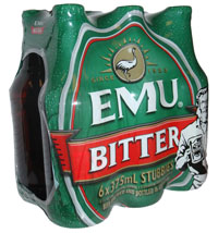 Emu Bitter (6 x 375ml bottles)