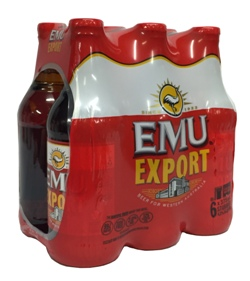 Emu Export (6 x 375ml bottles)