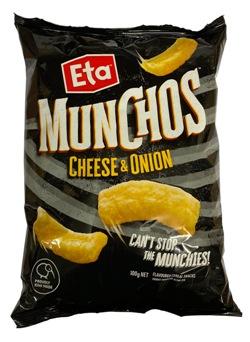 ETA Munchos Cheese & Onion (100g)