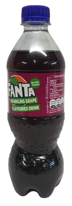 Fanta Grape (440ml bottle)