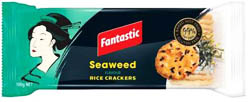 Fantastic Seaweed Rice Crackers (100g)