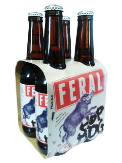Feral Hop Hog India Pale Ale (4 x 330ml bottles)