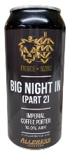 Fierce x NZBC Big Night In (Part 2) - Imperial Coffee Porter (440ml Can)