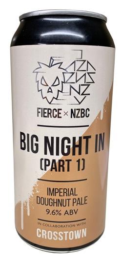 Fierce x NZBC Big Night In (Part 1) - Imperial Doughnut Pale (440ml Can)
