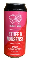 Fierce x NZBC - Stuff & Nonsense NZ Pale (440ml Can)