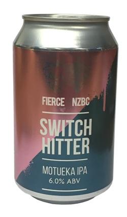 Fierce x NZBC Switch Hitter Motueka IPA (330ml Can)