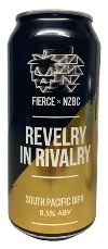 Fierce x NZBC - Revelry in Rivalry South Pacific Ale (440ml Can)