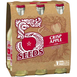 Tooheys Five Seeds Crisp Apple Cider (6 x 345ml bottles)