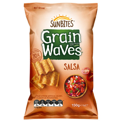 Bluebird Sunbites Grainwaves - Salsa (150g)
