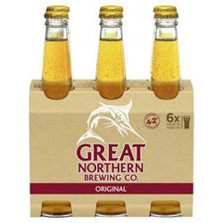 Great Northern Original Lager (6 x 330ml bottles)