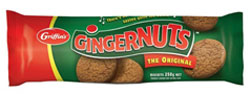 Griffins Gingernuts (250g)