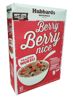 Hubbards Cereal Berry Berry Nice (600g)