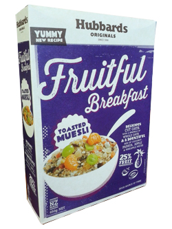 Hubbards Fruitful Breakfast (650g)