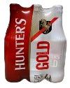 Hunters Cider Gold  (6 x 330ml bottles)