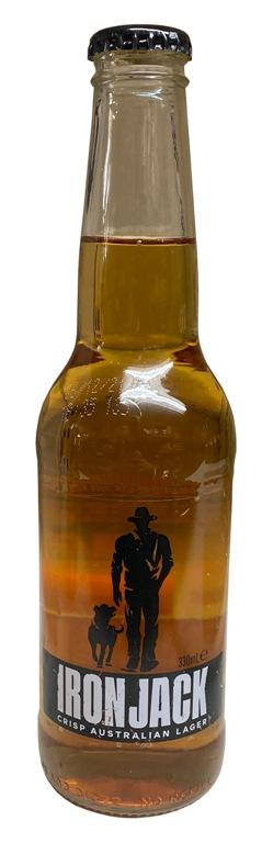 Iron Jack Crisp Lager (330ml bottle)