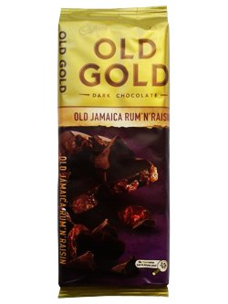 Cadbury Old Gold - Old Jamaica Rum & Raisin (200g)