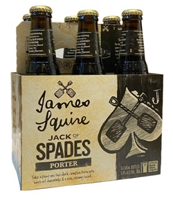 James Squire Jack of Spades Porter (6 x 345ml bottles)