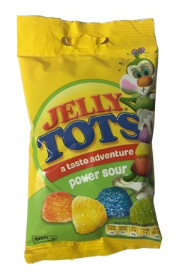 Wilsons Jelly Tots - Power Sour (100g)