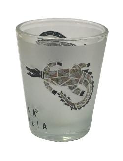 Shot Glass - Jijaka Kangaroo & Crocodile