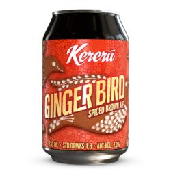 Kereru Ginger Bird Spiced Brown Ale (330ml)