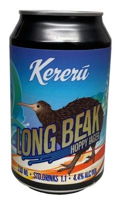 Kereru Long Beak Hoppy Lager (330ml)