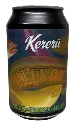 Kereru One Fin Day Lemon Pepper Gose (330ml)