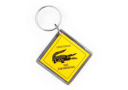Keyring Crocodile Road Sign