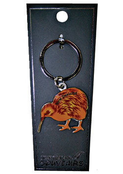 Keyring Moveable Legs Kiwi