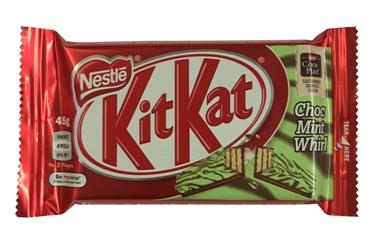 Nestle KitKat Chocolate Mint Whirl (45g)