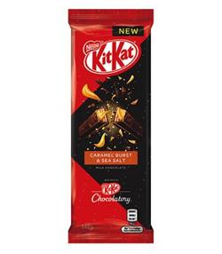 Nestle KitKat Caramel Burst & Sea Salt (140g)