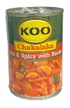 Koo Chakalaka - Hot & Spicy with Beans (410g)