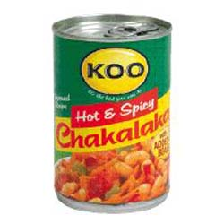 Koo Chakalaka - Hot & Spicy (410g)