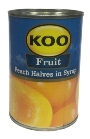 Koo Peach Halves In Syrup (410g)