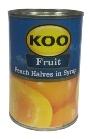 Koo Peach Halves In Syrup (410g)