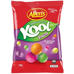 Allens Kool Fruits (220g)