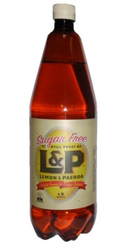 L&P Lemon & Paeroa Sugar Free (1.5lt)