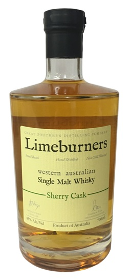 Limeburners Sherry Cask Single Malt Whisky (700ml)