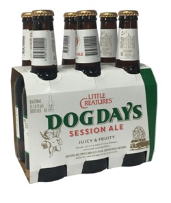 Little Creatures Dog Days Session Ale (6 x 330ml bottles)