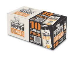 Little Fat Lamb Brewed Ginger (10 x 375ml Cans)