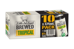 Little Fat Lamb Brewed Tropical (10 x 375ml Cans)